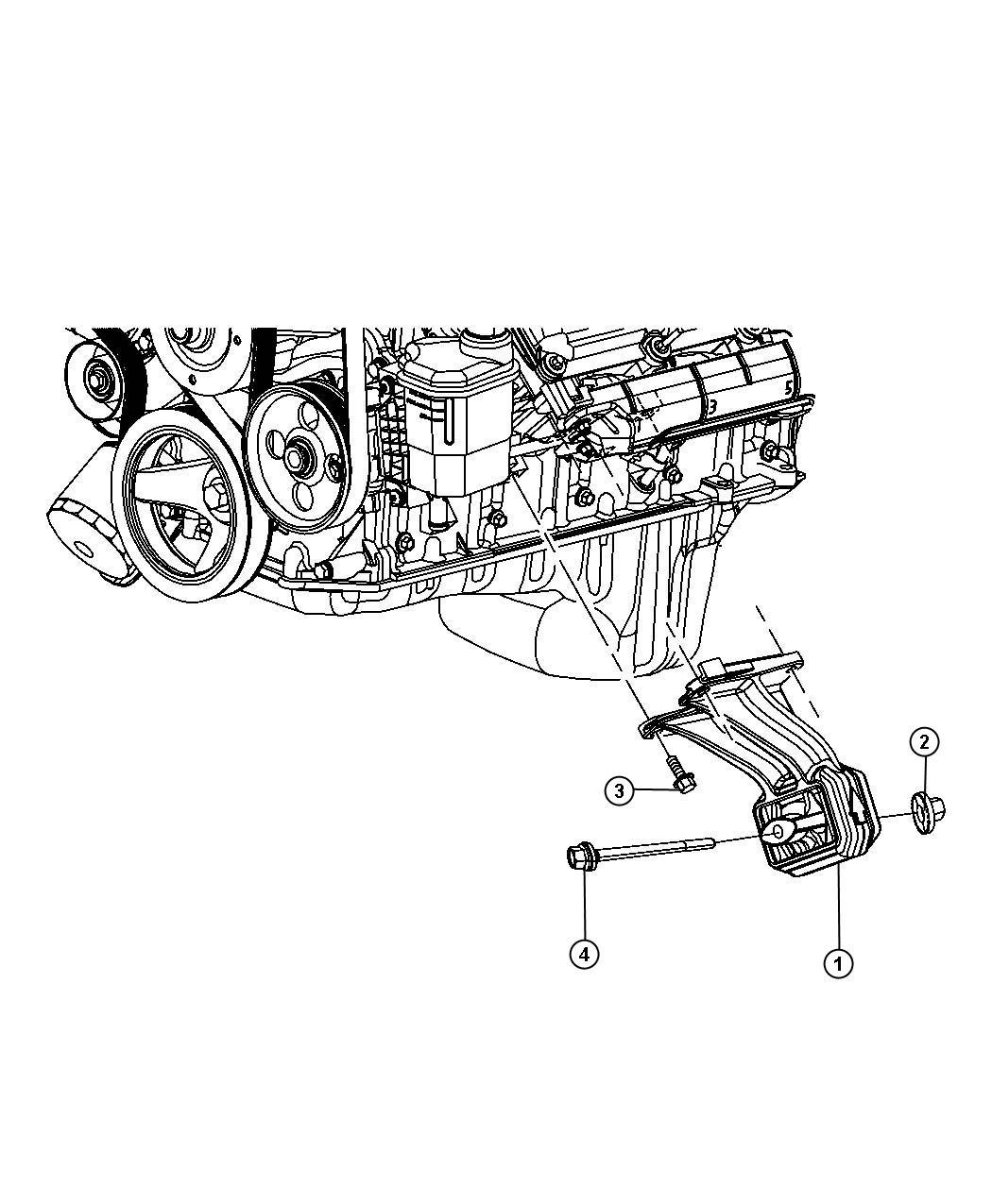 Jeep Commander Bolt Screw Hex Flange Head M10x1 50x20