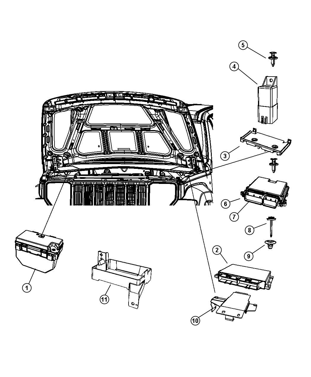 Jeep Liberty Module Powertrain Control Emissions