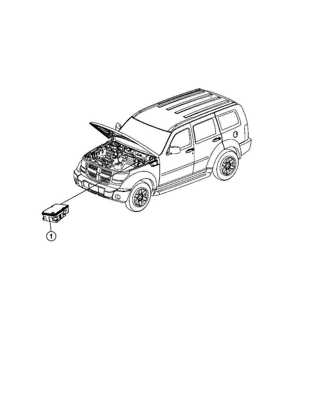 Jeep Liberty Module Anti Lock Brake System Tubes