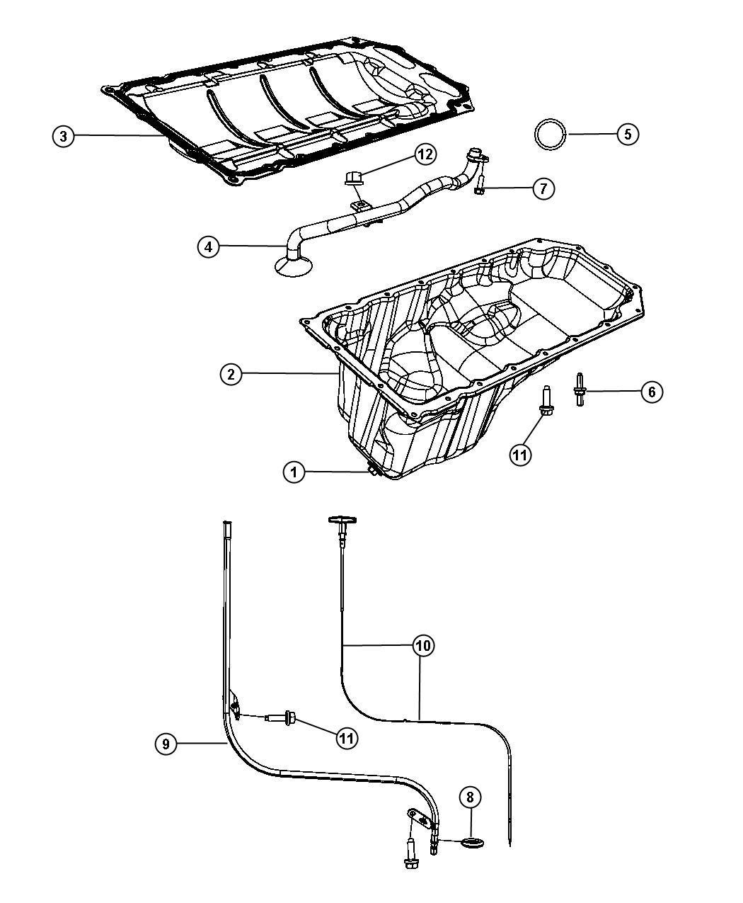 Dodge Durango Indicator Engine Oil Level Ezb