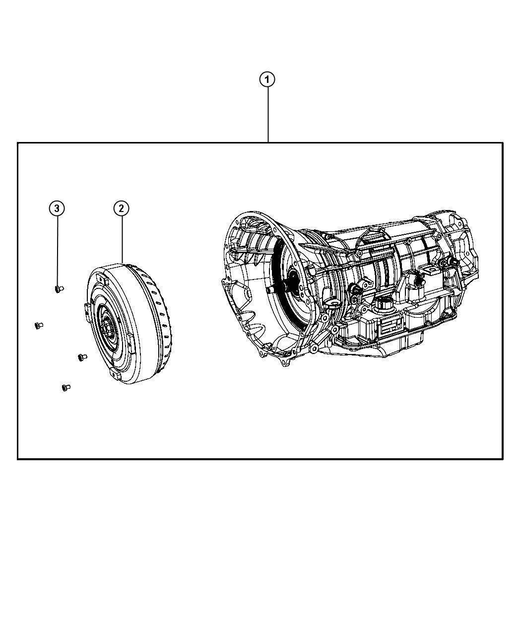 Dodge Durango Transmission Package With Torque Converter