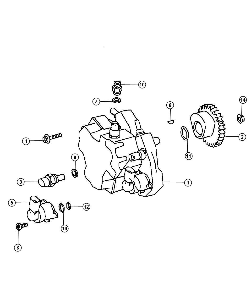 Dodge Sprinter Sending Unit Sensor Oil