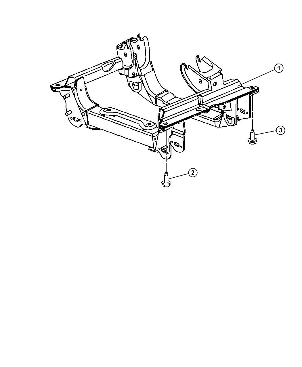 Jeep Liberty Cradle Front Suspension All Turbosel