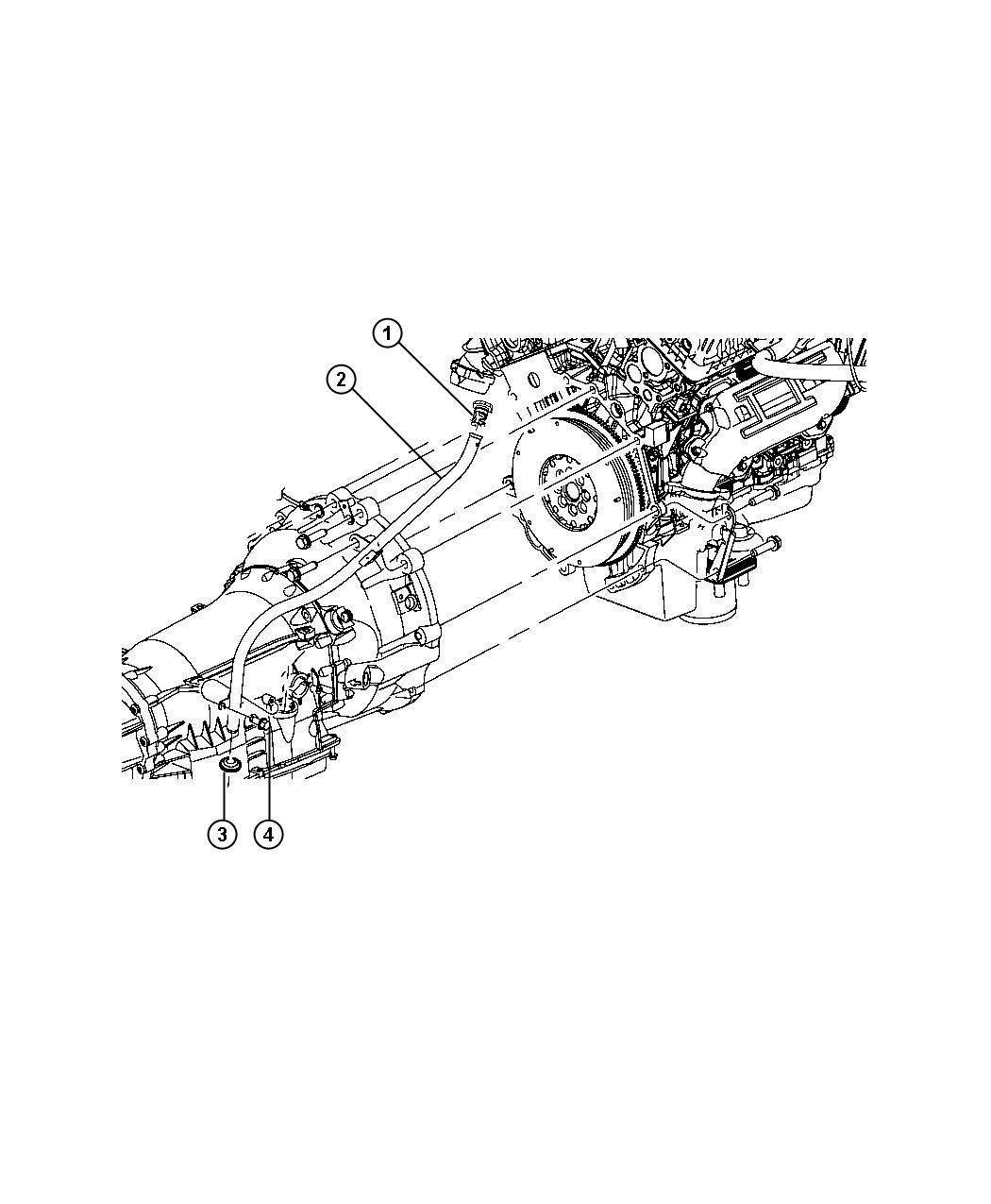 Jeep Grand Cherokee Tube Transmission Oil Filler