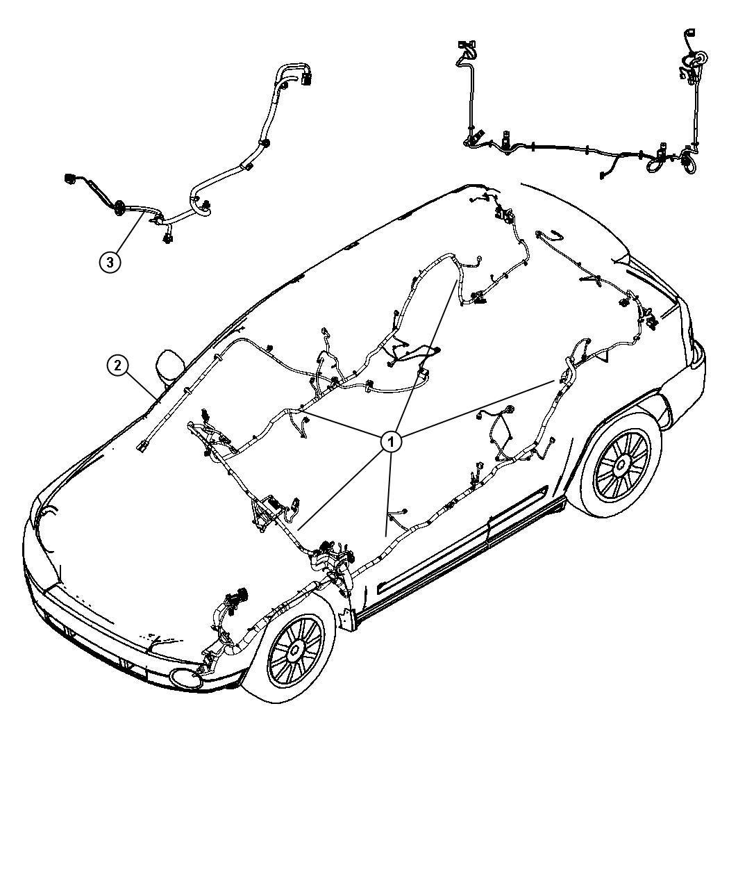 Dodge Caliber Wiring Jumper Differential Vent