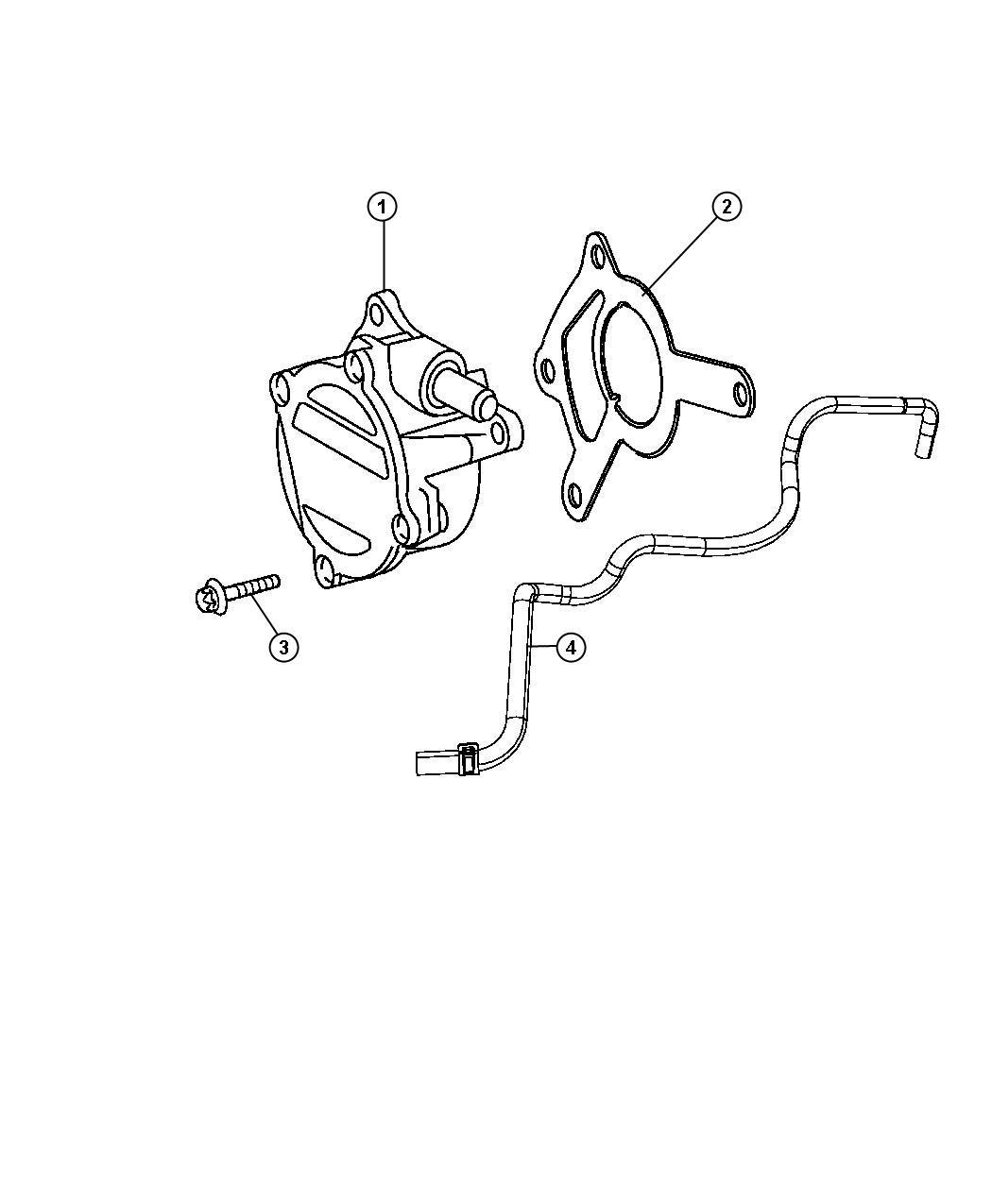 Jeep Grand Cherokee Pump Vacuumsel Turbo Engines