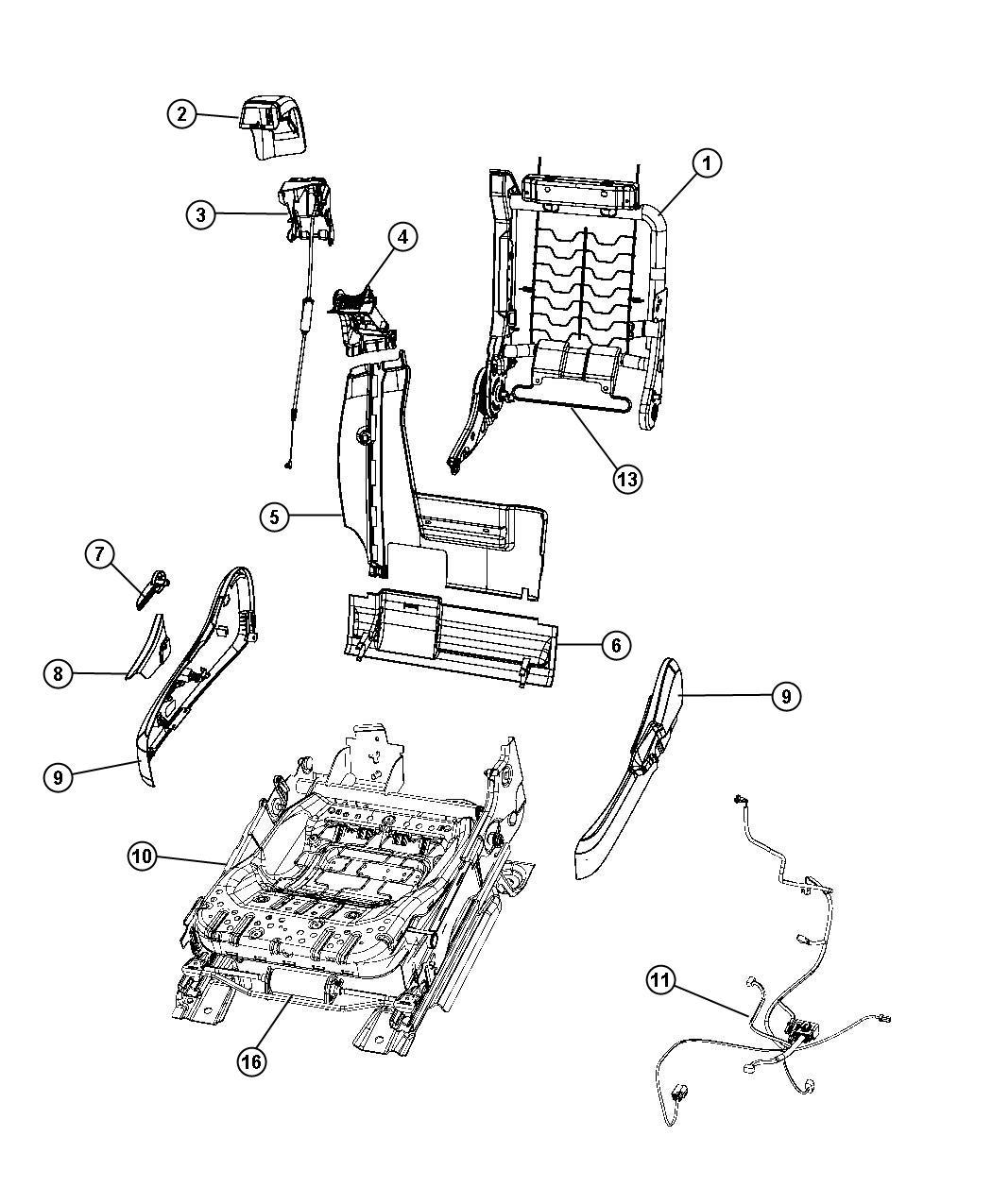 Chrysler Power Seat Wiring Diagrams