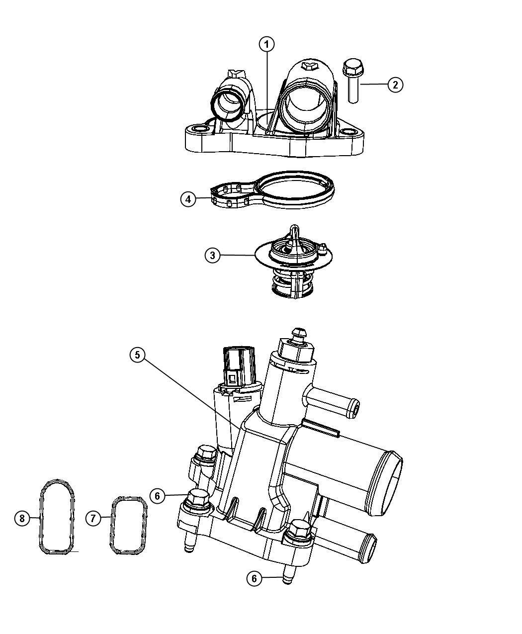 34 Dodge Journey Cooling System Diagram