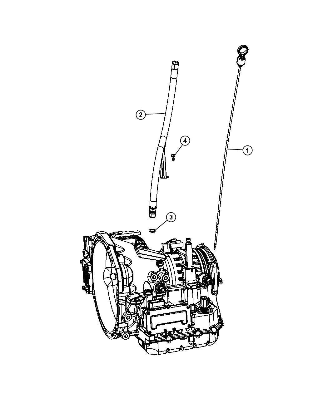 Dodge Journey Indicator Transmission Fluid Level
