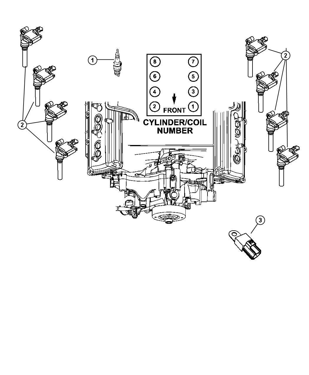Chrysler Aspen Spark Plug Ignition Plugs Group