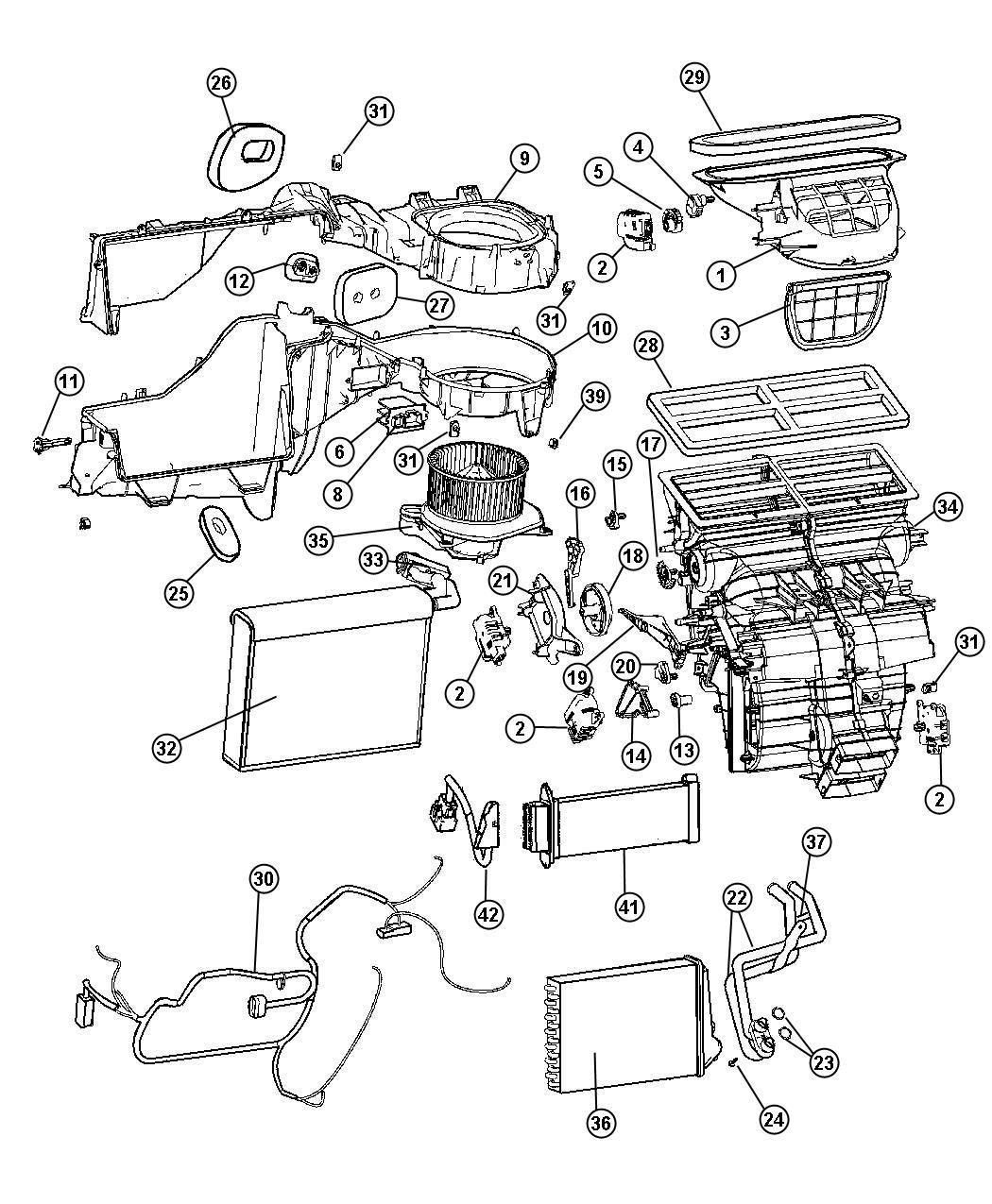Jeep Grand Cherokee Probe Air Conditioning Haa Haf Haa Haf Rhd With Haa With