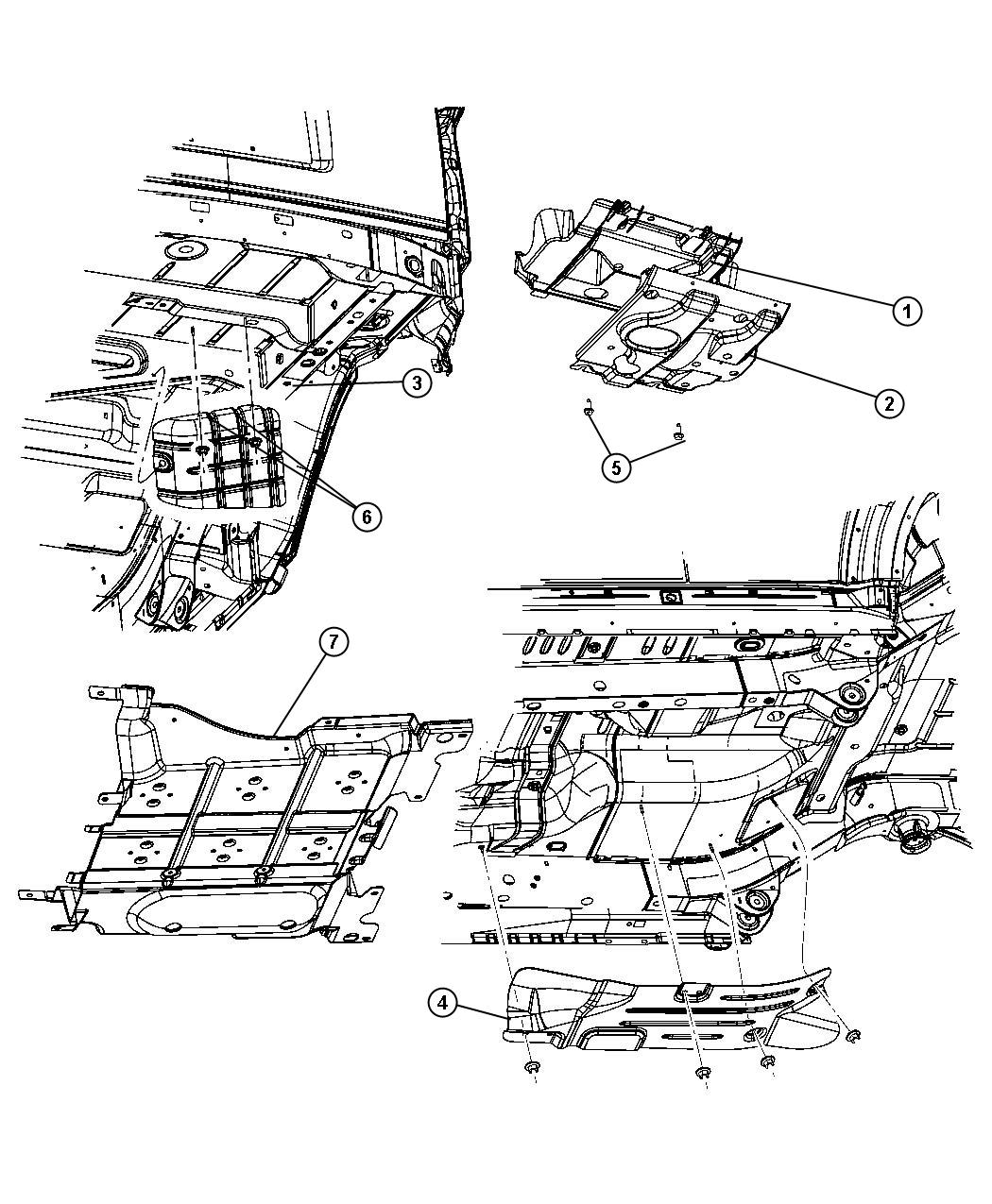 Mopar Front Suspension Skid Plate