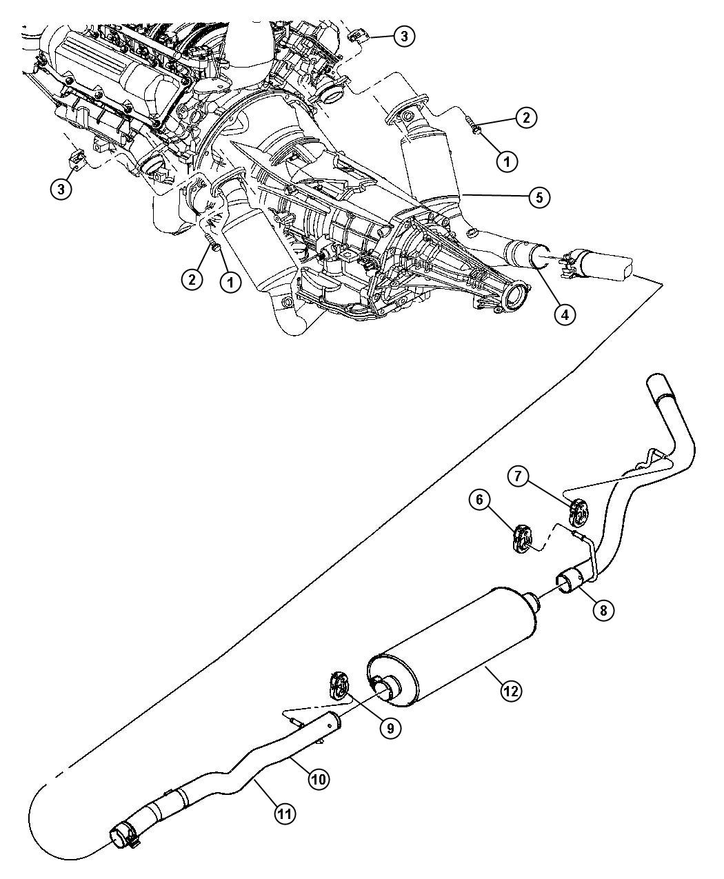 Dodge Dakota Used For Pipe And Resonator Exhaust System