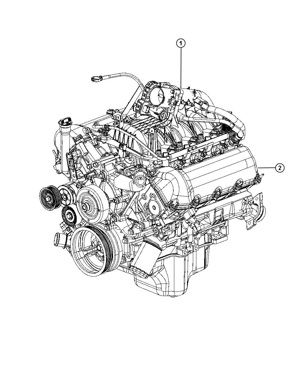 Dodge Dakota Engine Long Block Remanufactured Service