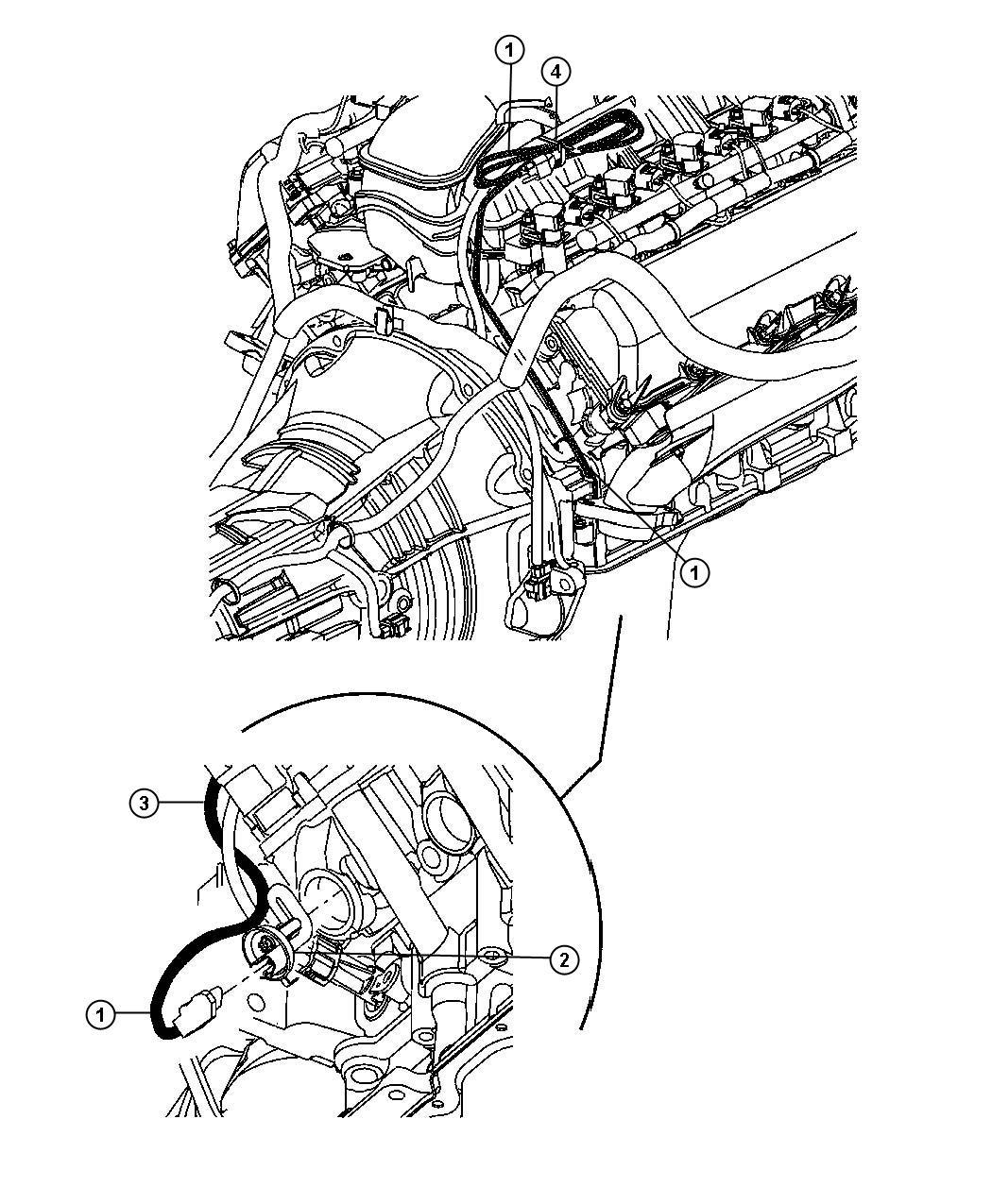 Dodge Nitro Cord Engine Block Heater 3 7l Engine