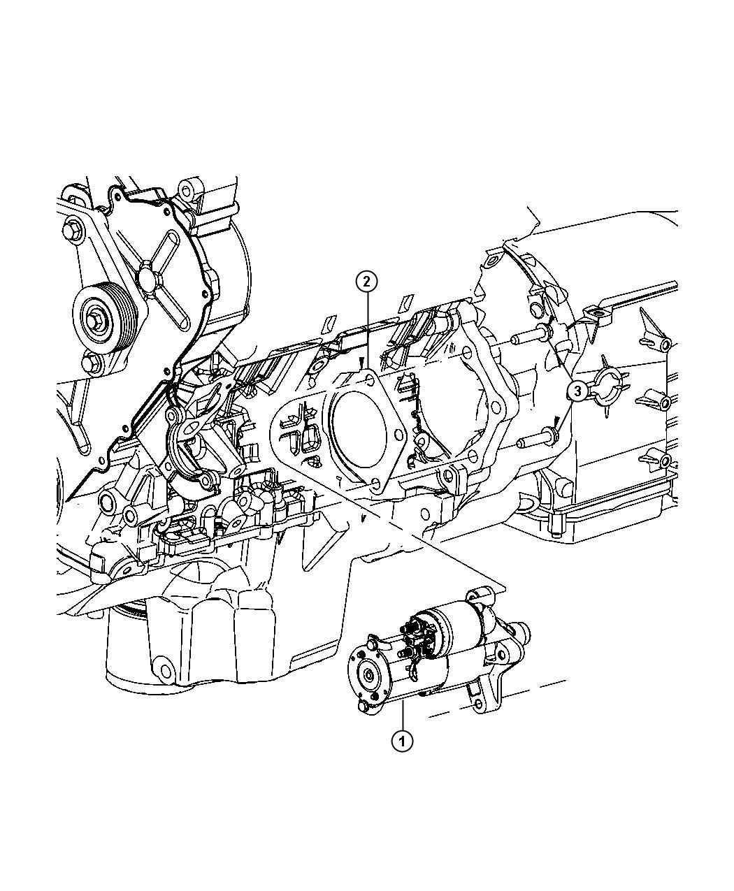 Dodge Nitro Starter Engine Remanufactured Starters