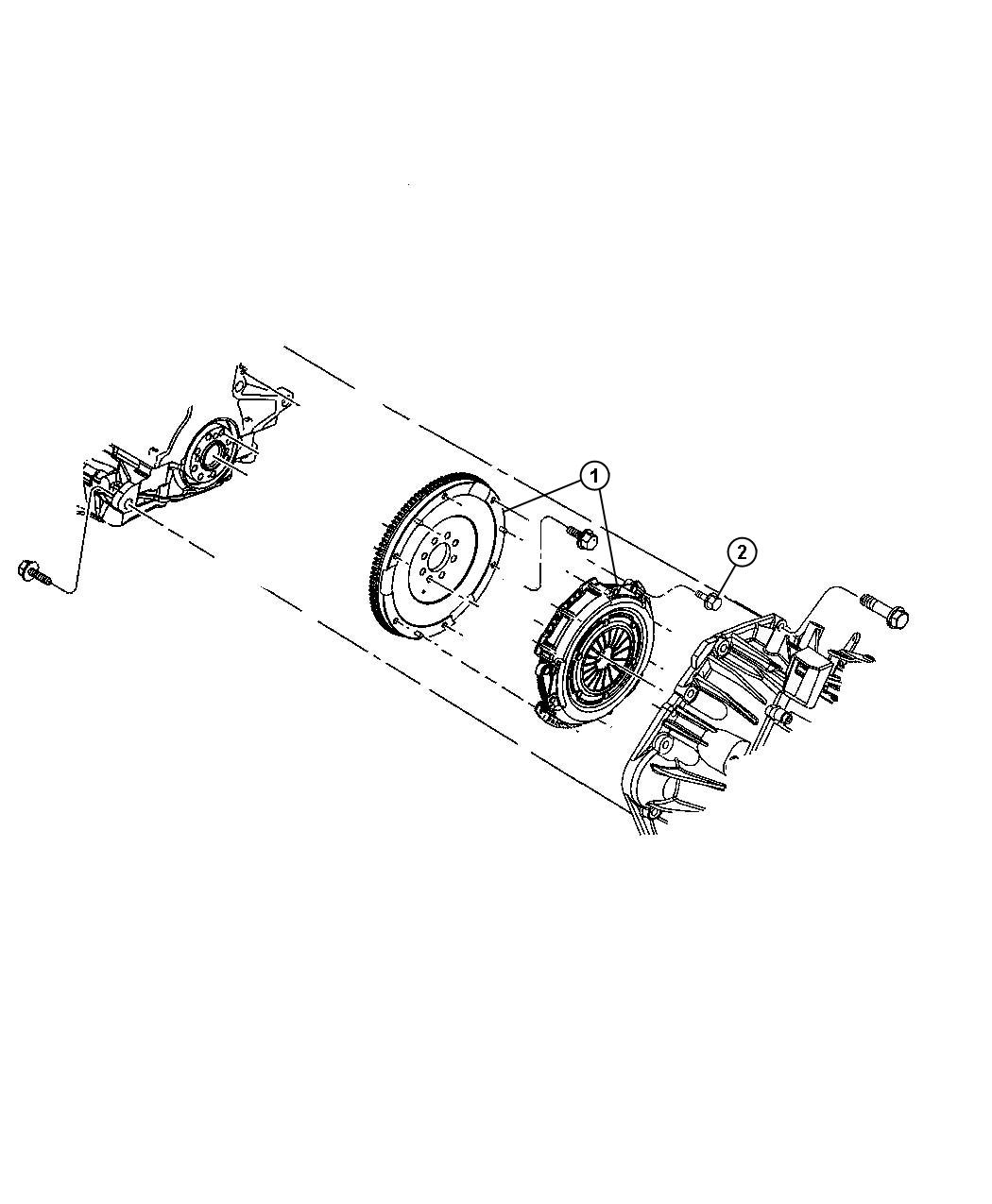 Jeep Patriot Clutch Kit Used For Pressure Plate And