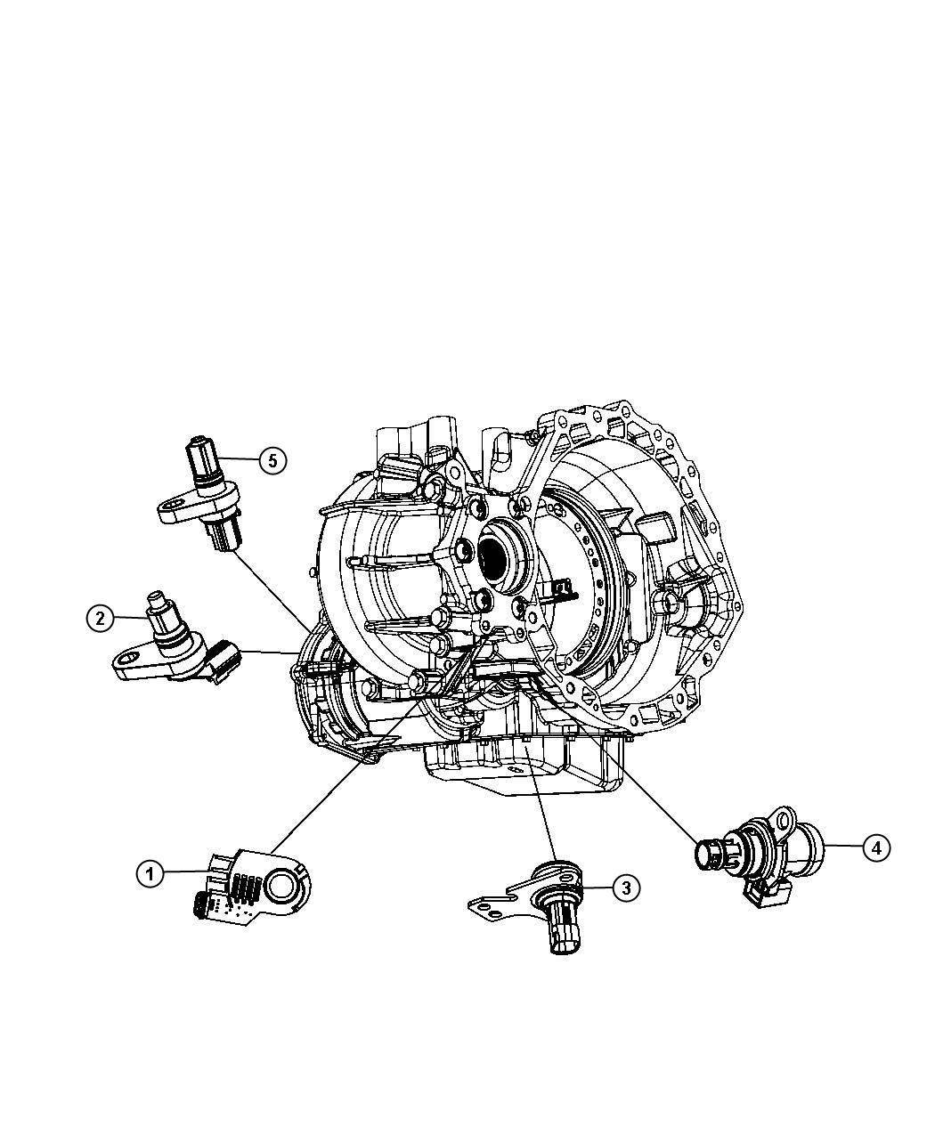 Dodge Avenger Sensor Trans Pressure Transducer Transfer