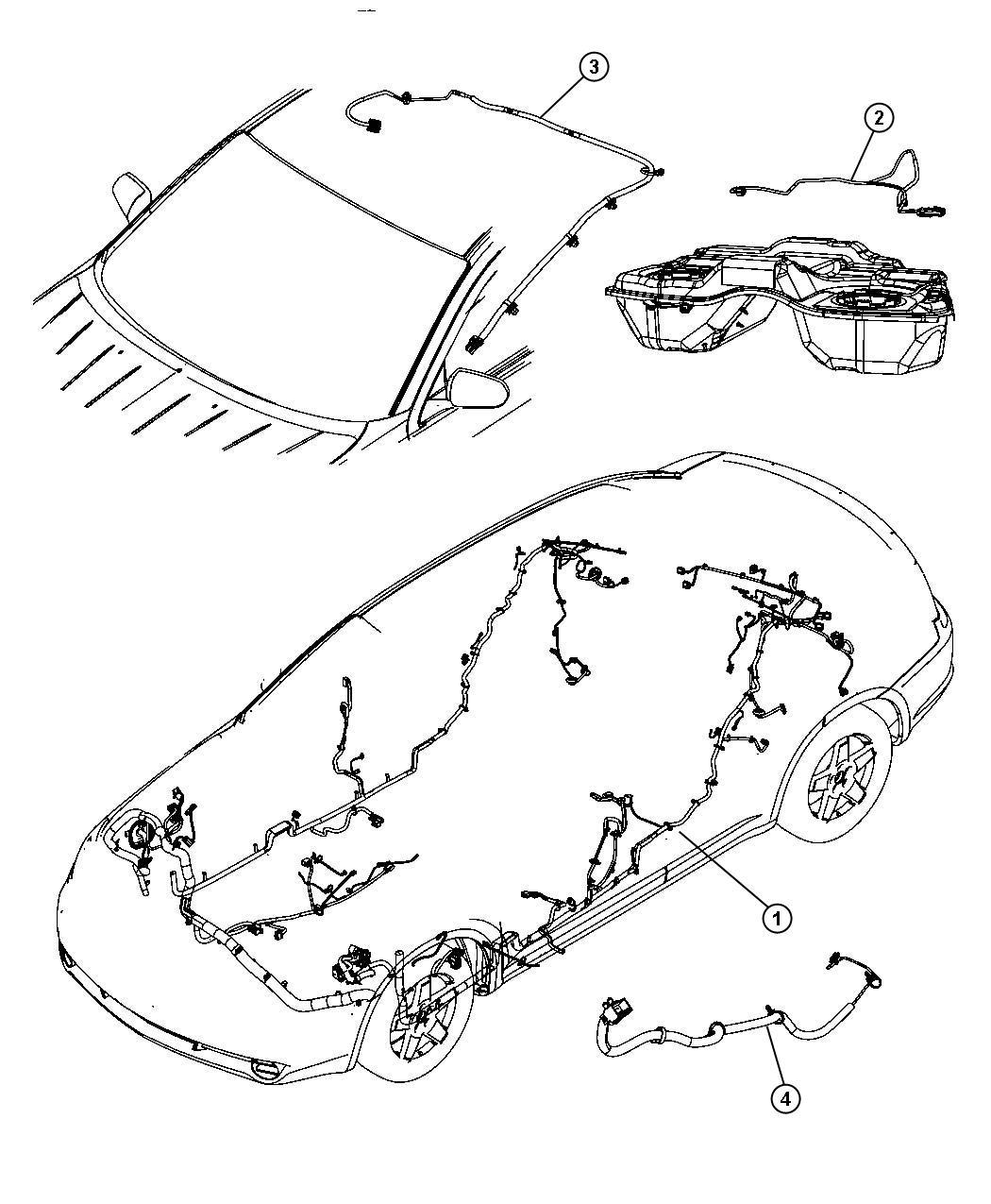Chrysler Sebring Wiring Unified Body Sirius