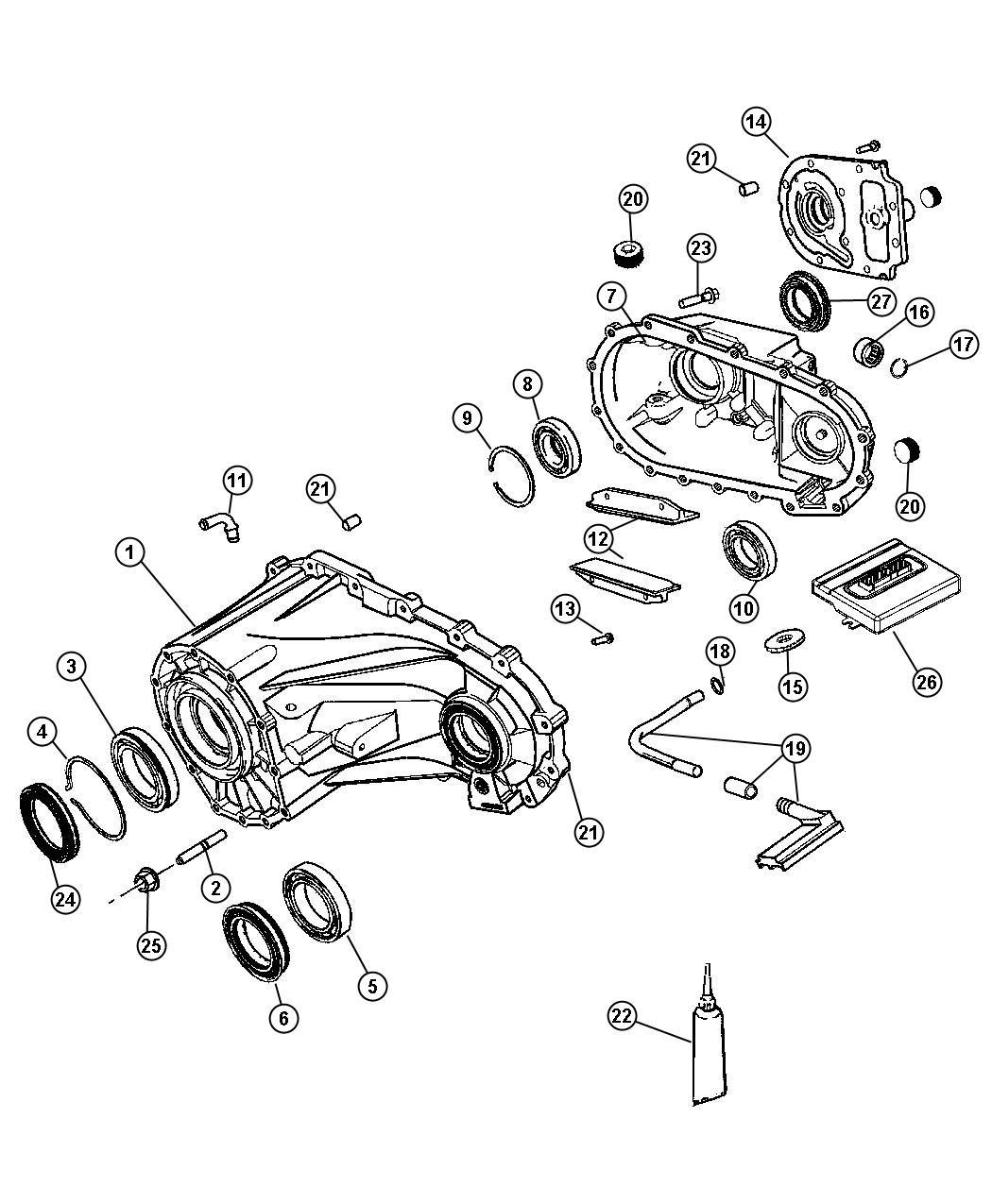 Jeep Liberty Module Transfer Case Control Trac