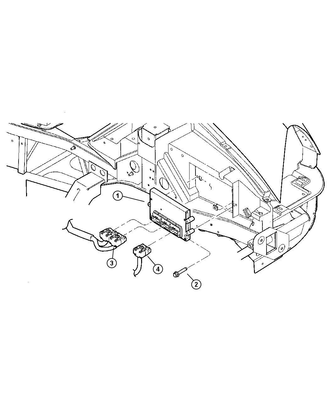 Dodge Viper Module Powertrain Control Engine