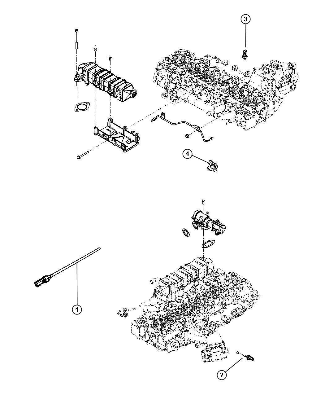 Dodge Ram Sensor Exhaust Temperature After Catalyst