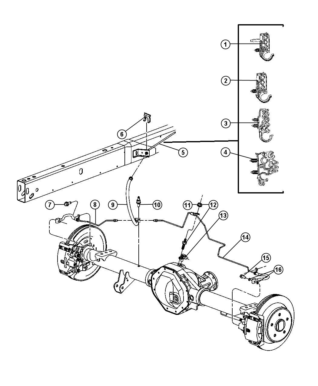 Dodge Ram Brake Diagram