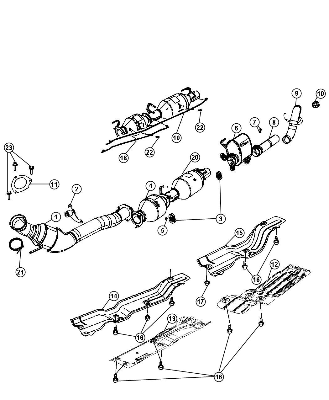 Jeep Compass Pipe Exhaust Extension System Eth