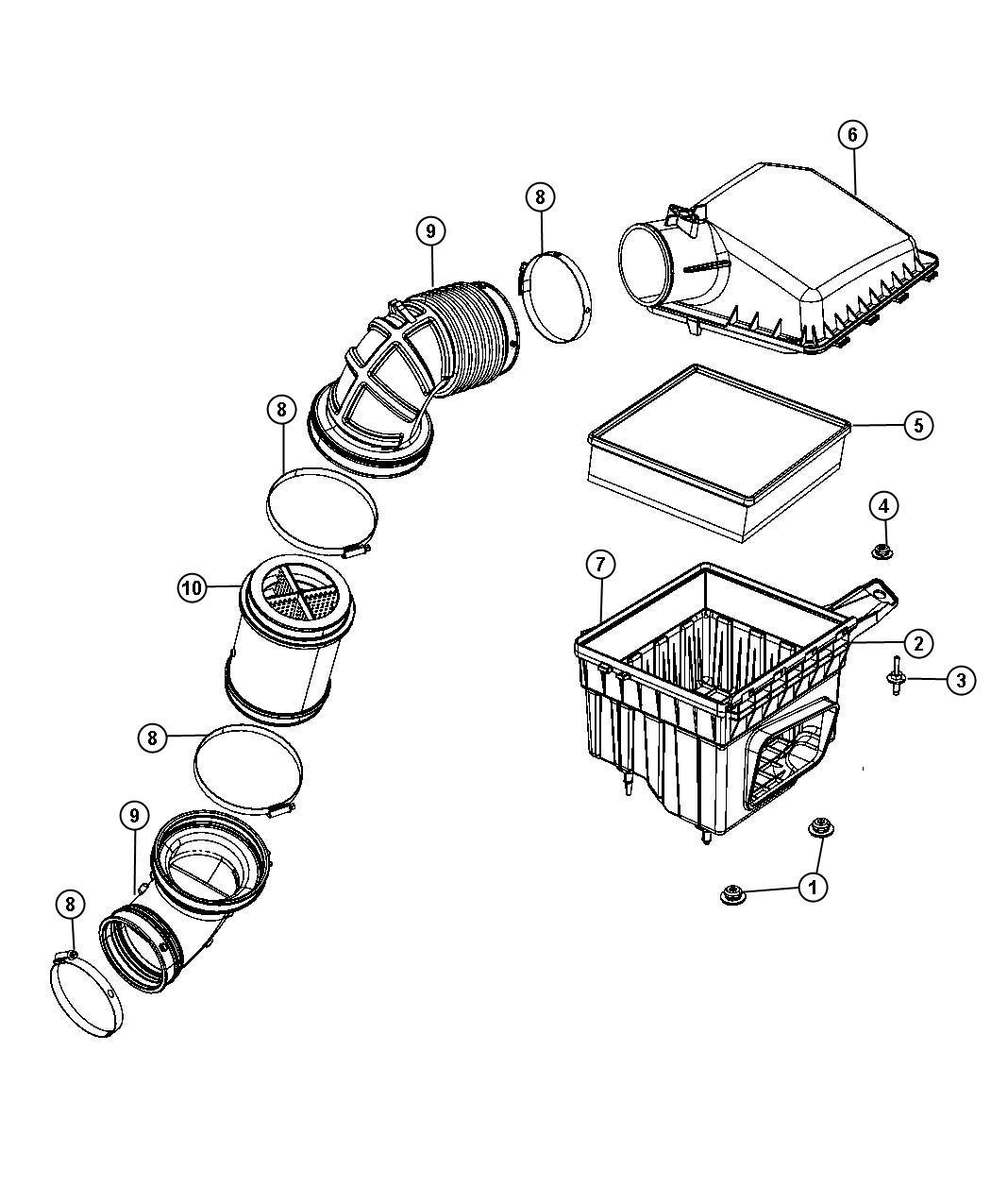 Dodge Ram Gauge Sensor Air Flow Air