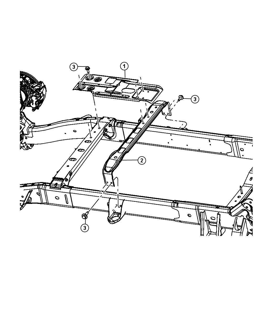 Dodge Ram Screw Hex Flange Head M8x1 25x30 00