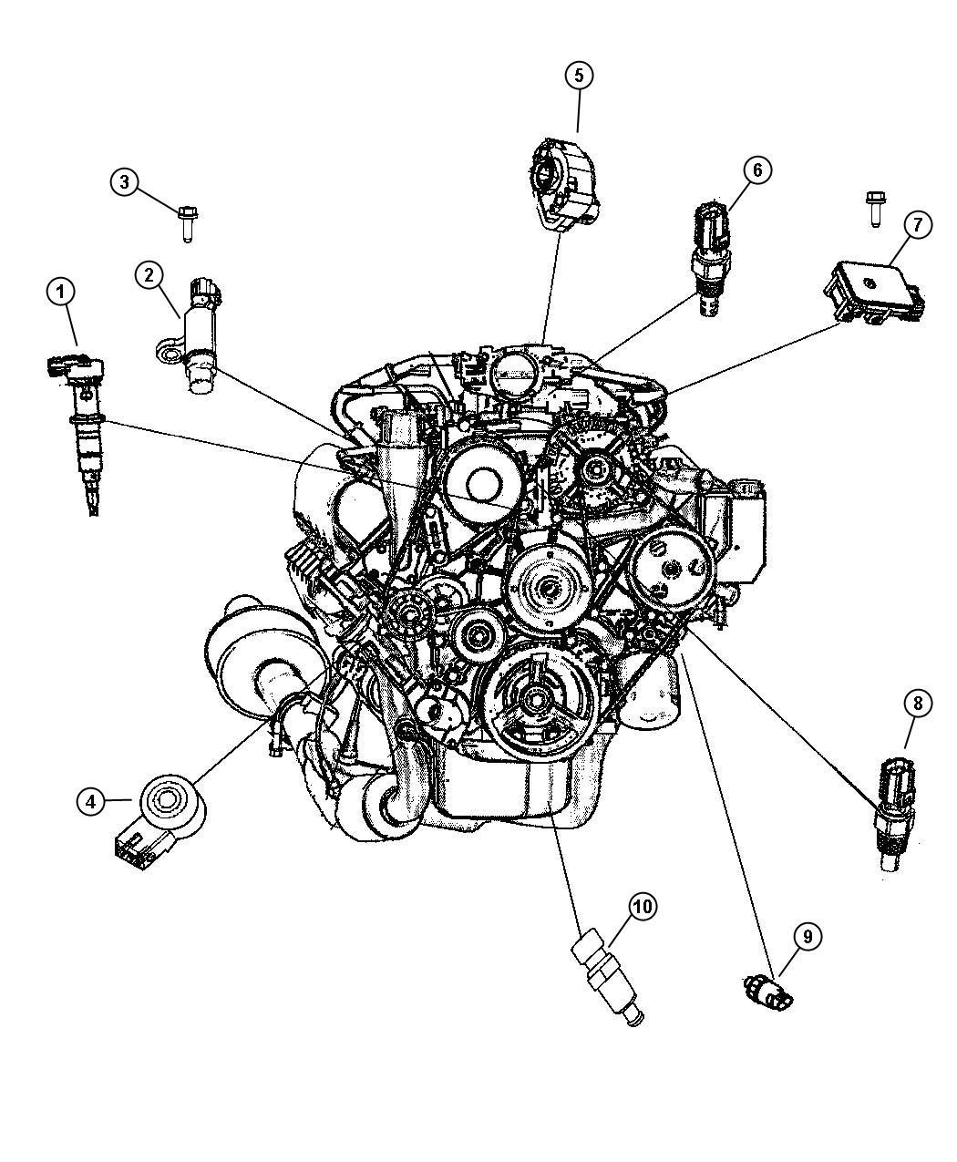 Dodge Ram Sensor Crankshaft Position Sensors