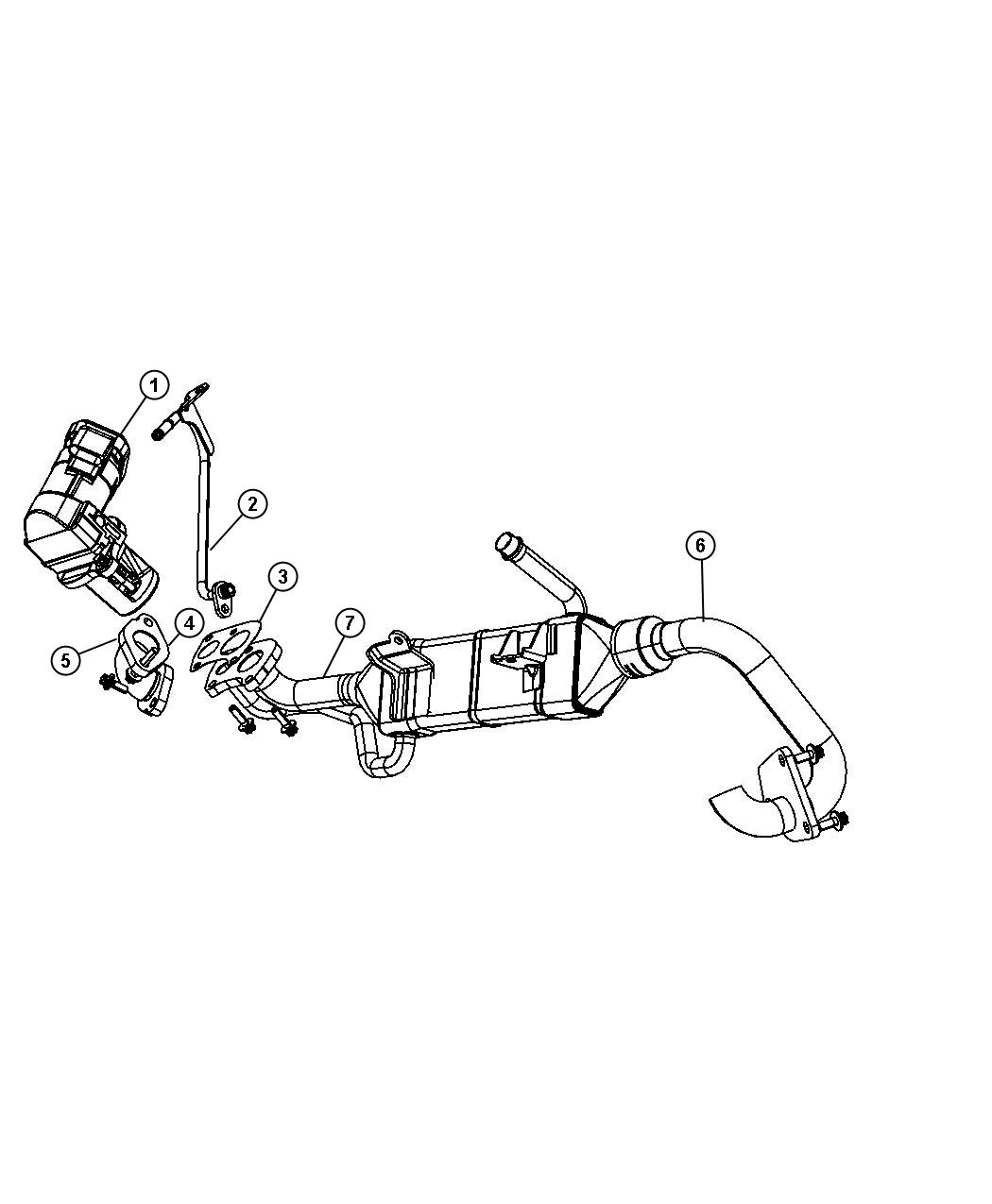Jeep Grand Cherokee Tube Egr Related System