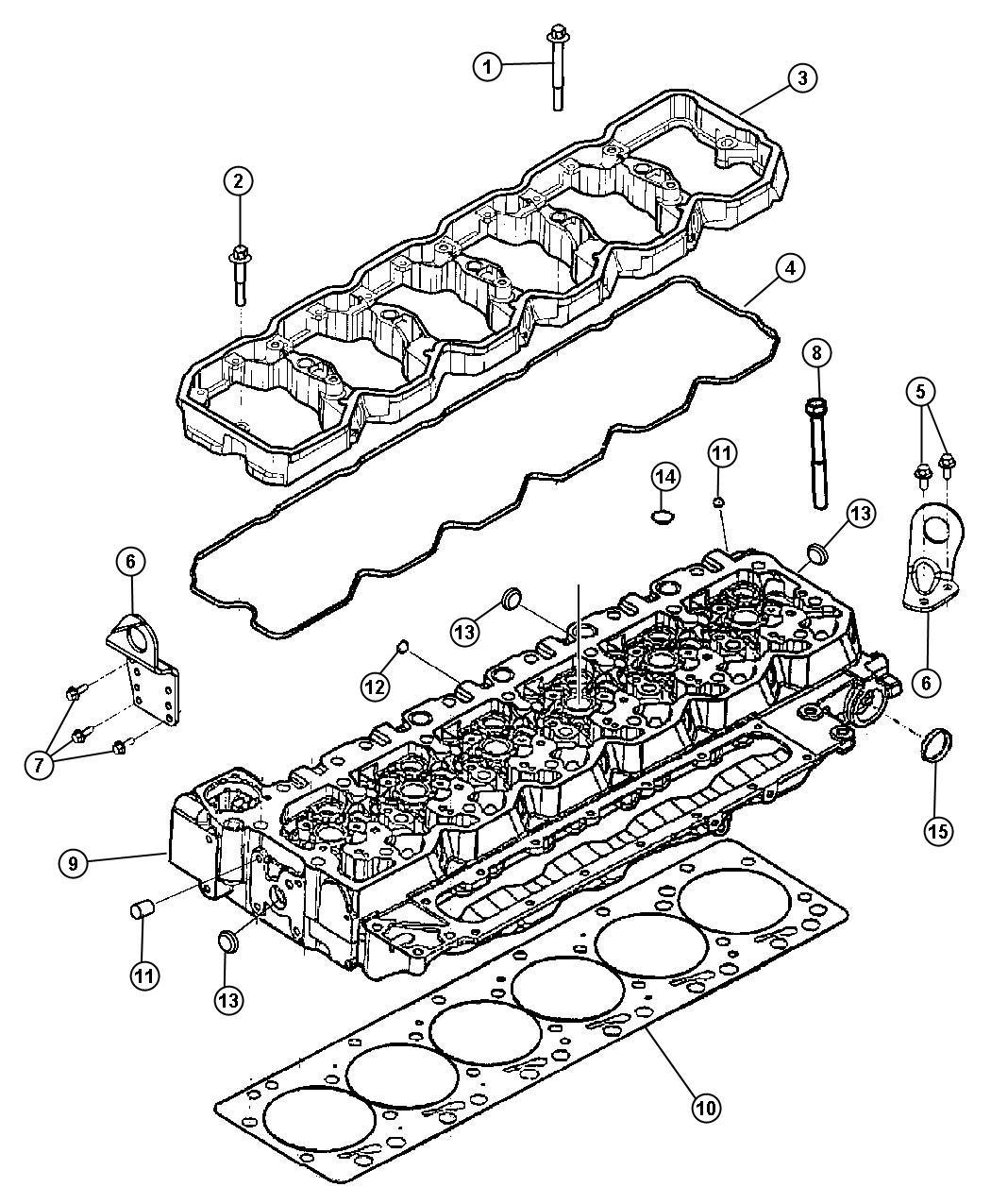 Dodge Ram Head Cylinder Emissions State Transmission