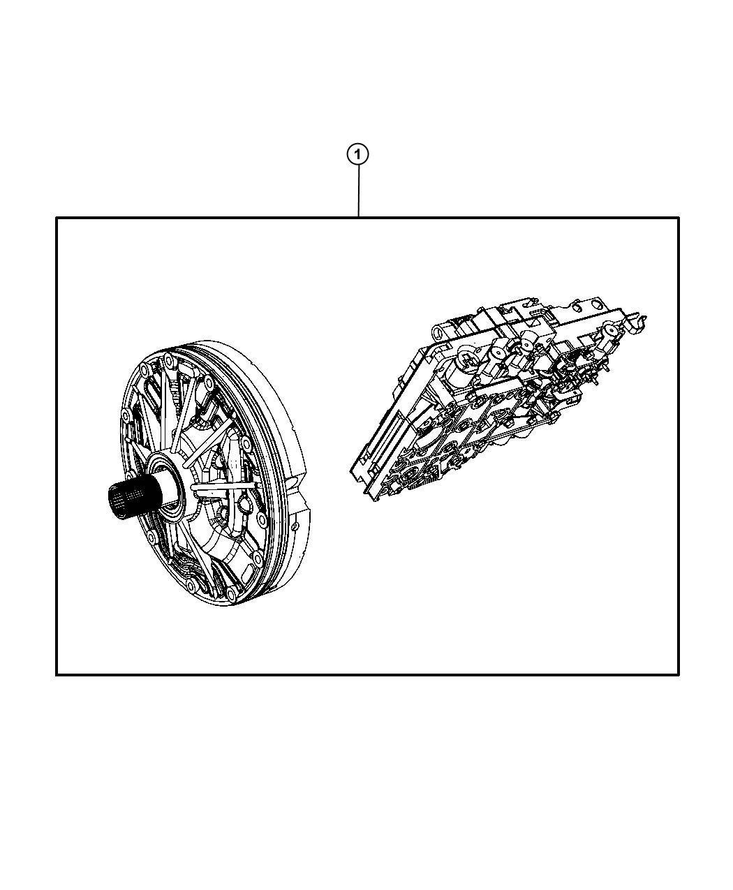 Dodge Ram Pump Kit Transmission Valve Oil Body