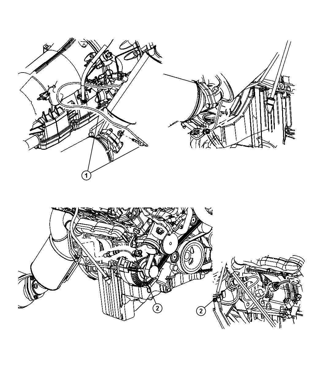 Jeep Grand Cherokee Sensor Oxygen Sensors Maintenance