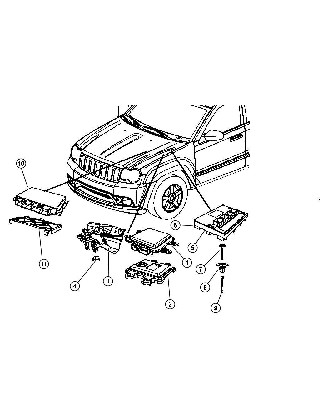 Jeep Liberty Module Transmission Control