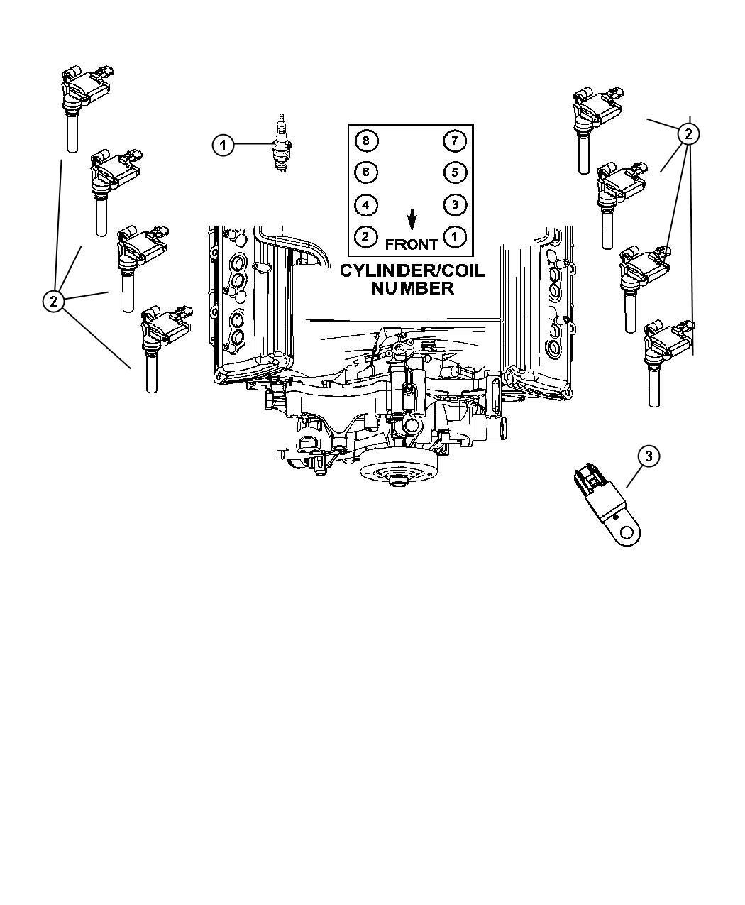 Jeep Grand Cherokee Spark Plug Ignition Plugs Engine