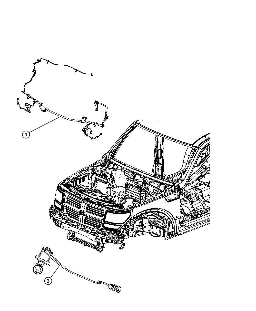 Dodge Nitro Wiring Front End Lighting Export