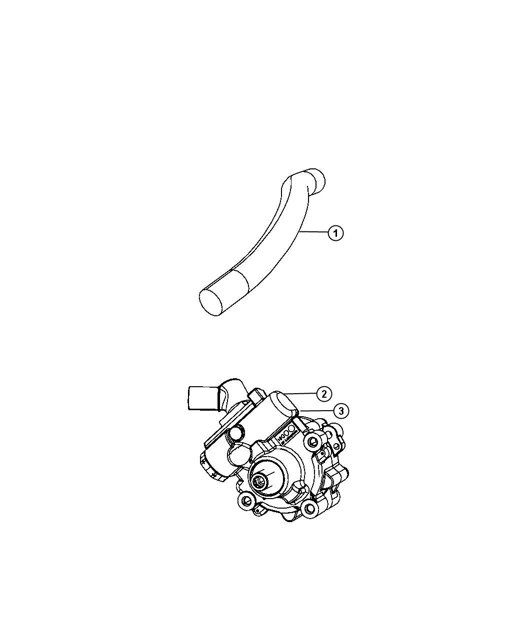 Jeep Wrangler Pump Power Steering Remanufactured