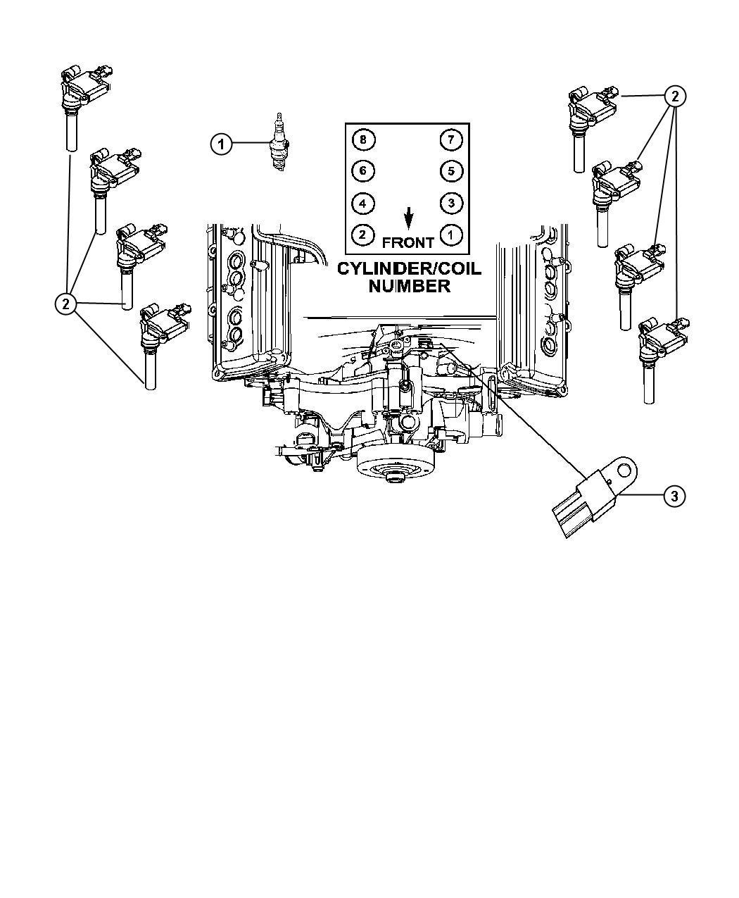 Chrysler 300 Spark Plug Ignition Plugs Engine