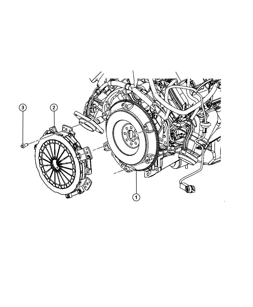 Dodge Challenger Clutch Kit Used For Pressure Plate