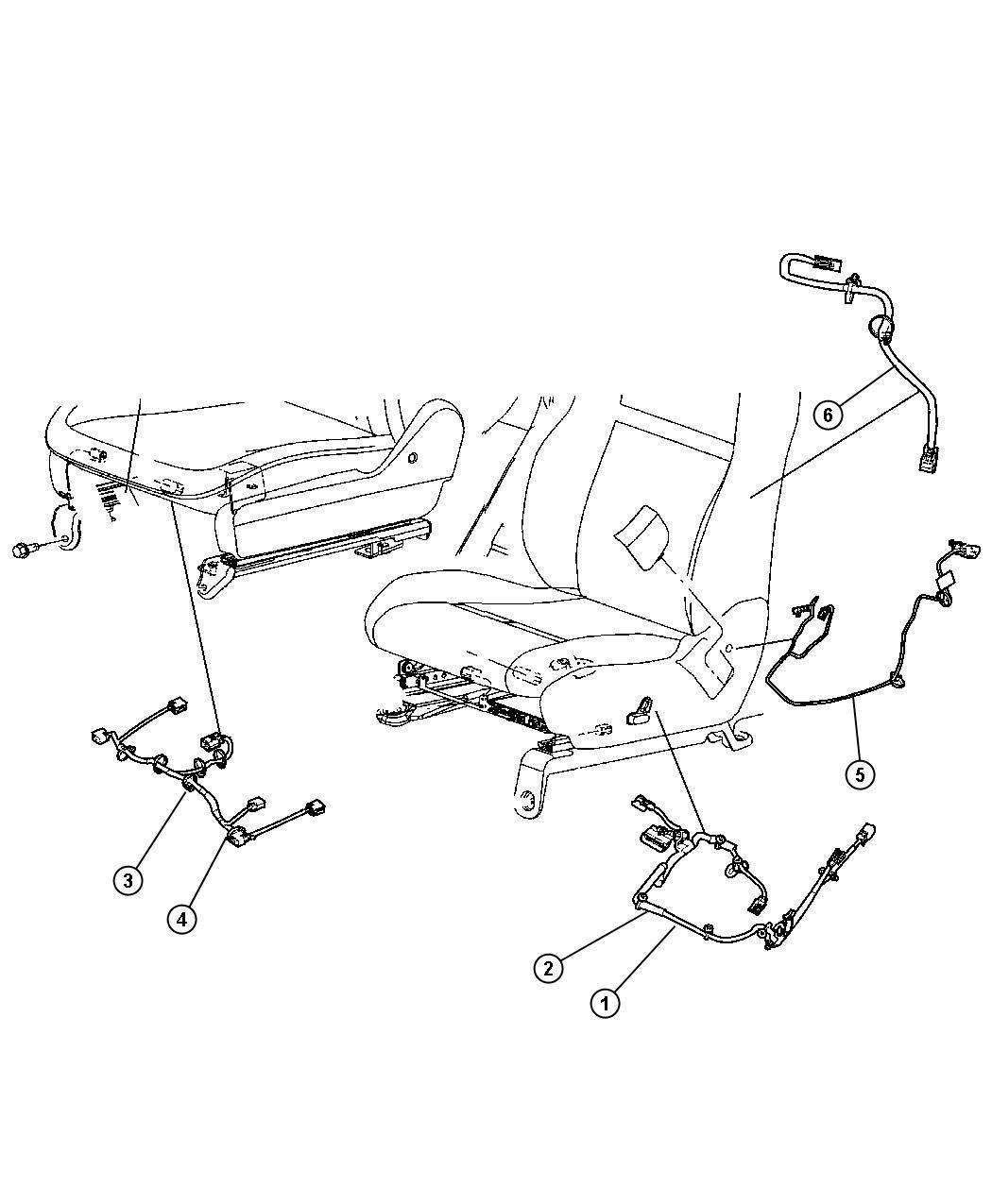 Chrysler Town Amp Country Wiring Seat 8 Way Power Lumbar