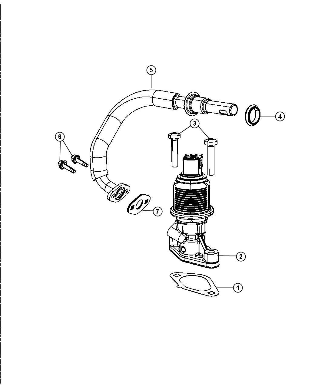 Jeep Commander Valve Egr Related System Engine