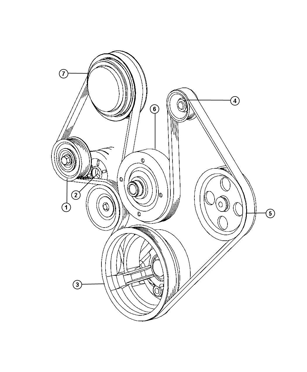 Dodge Dakota Pulley Hub Kit A C Compressor Air