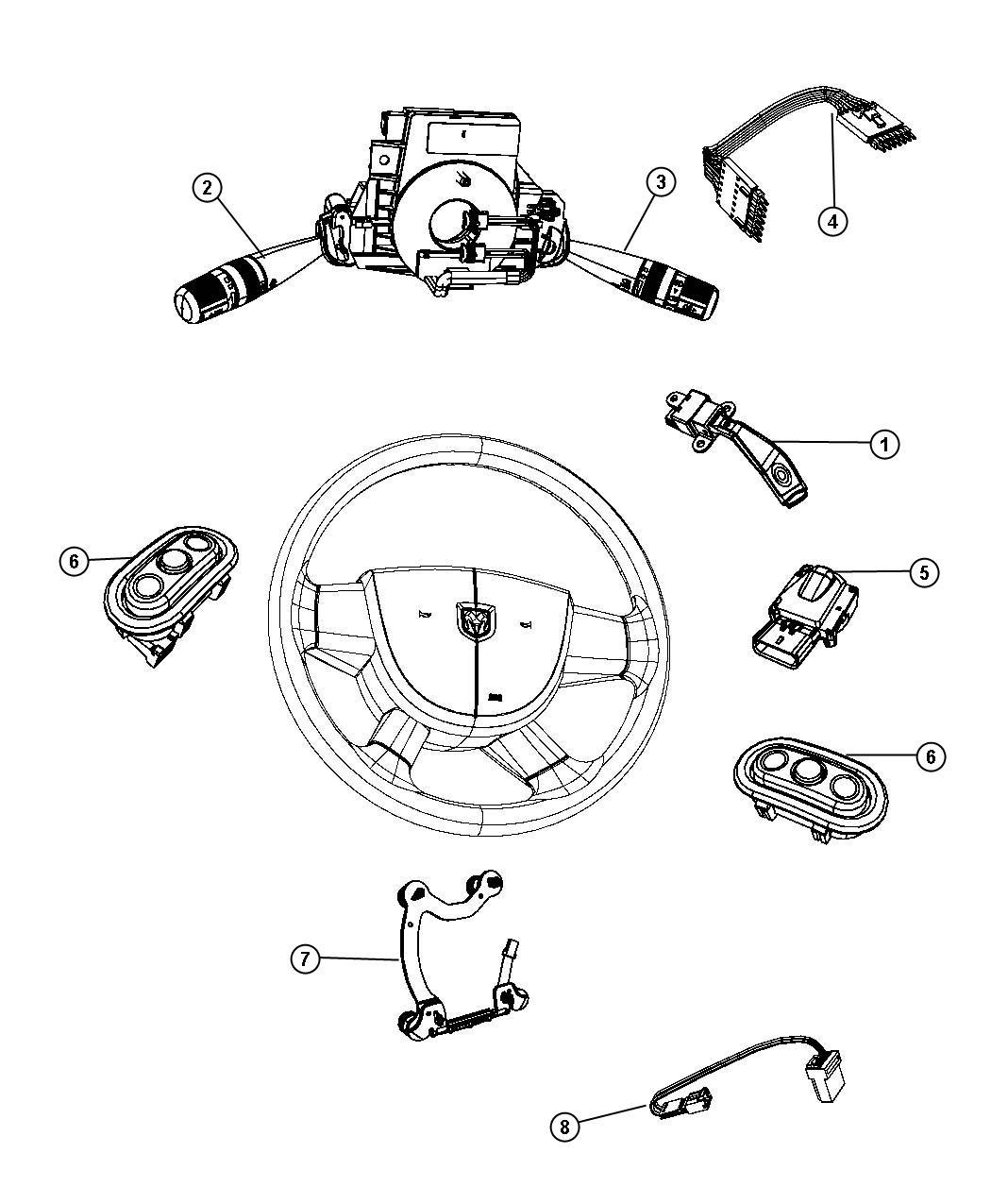 Dodge Avenger Switch Ignition Export Instrument