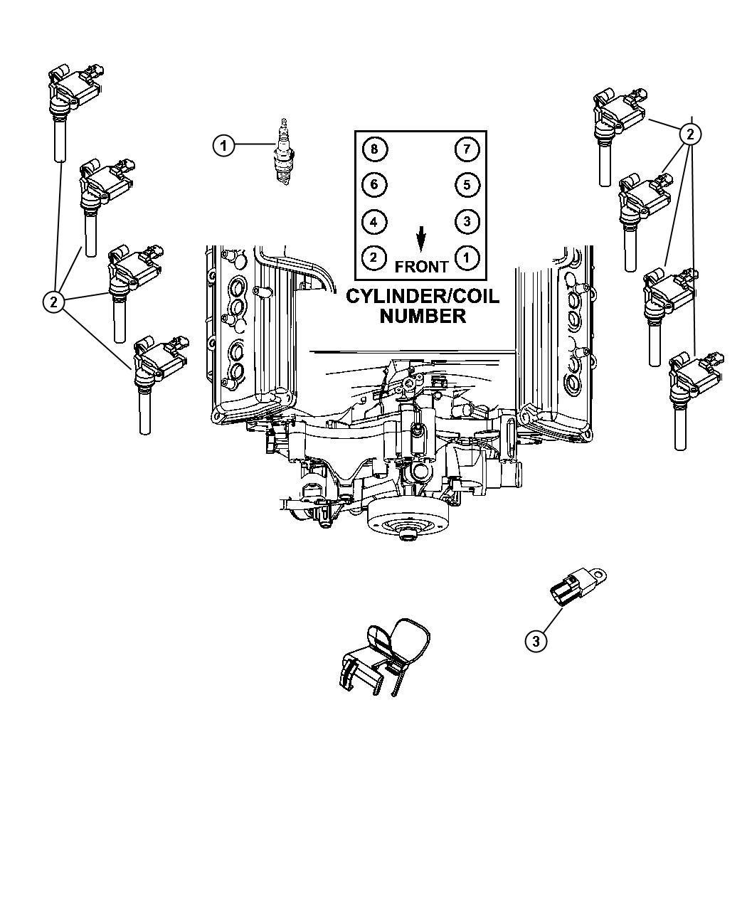 Dodge Ram Spark Plug Ignition Plugs Group