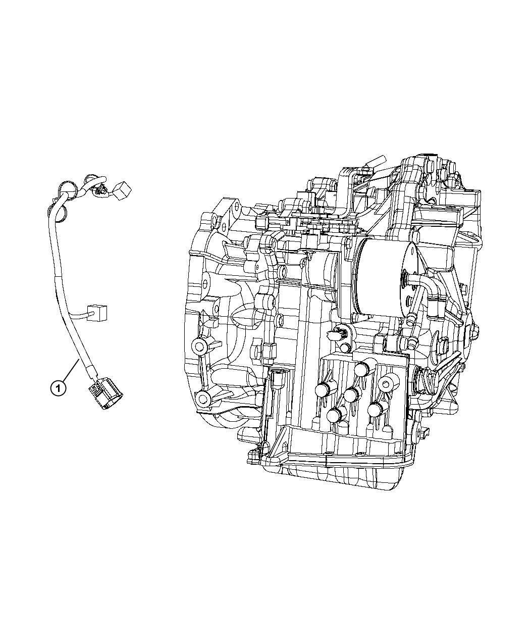 Jeep Compass Wiring Transmission Power Train Parts