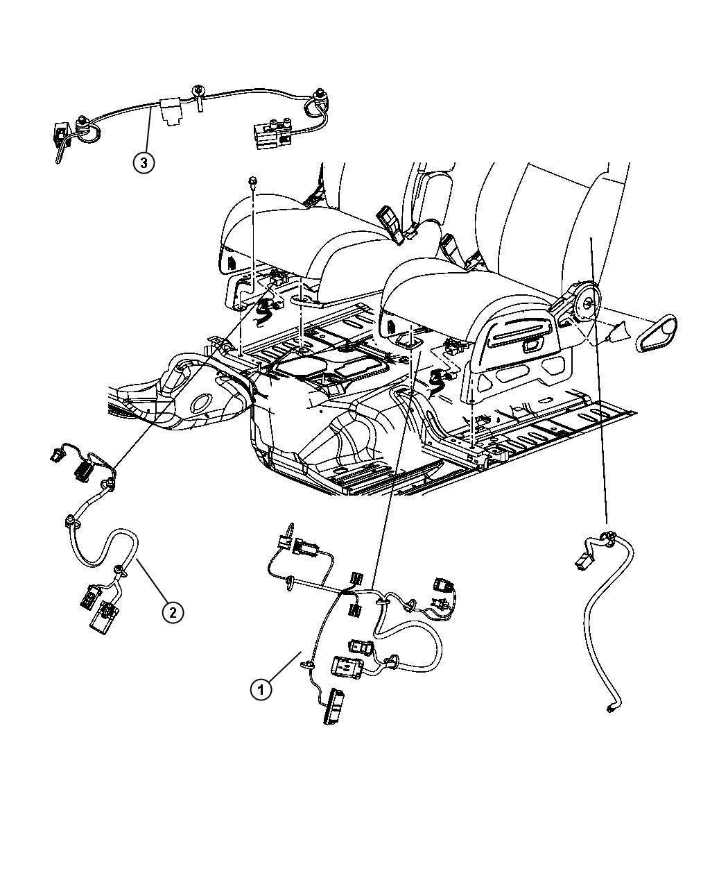 Jeep Patriot Wiring Seat Ocs Rh Trim Premium