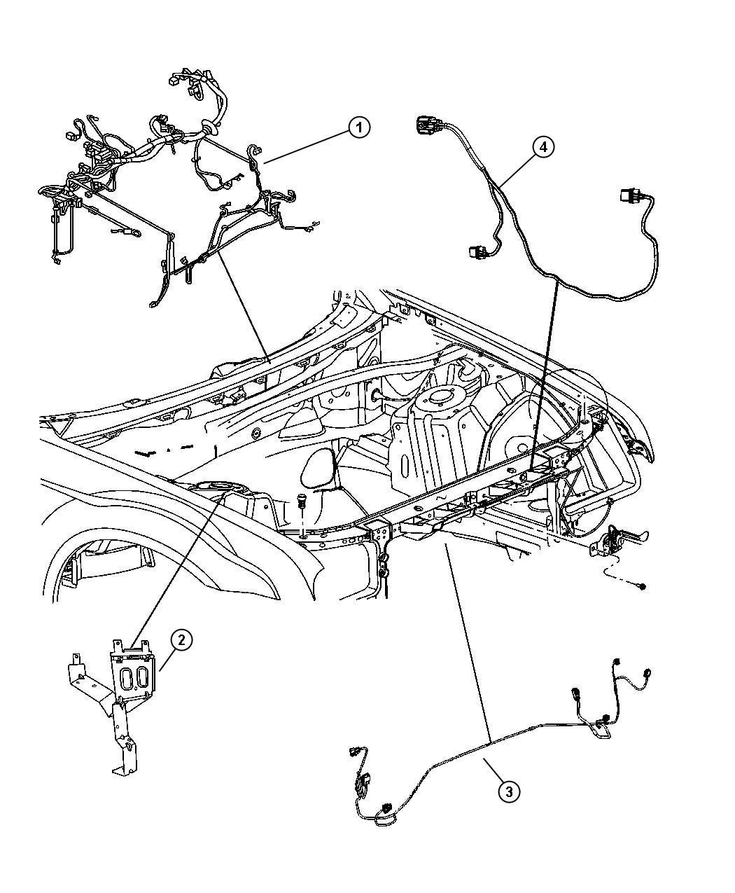 Dodge Challenger Wiring Fan Motor Engine Duty