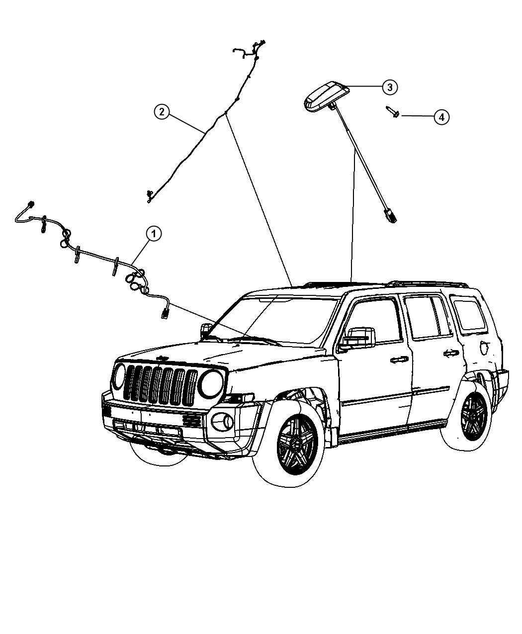 Dodge Caliber Wiring Radio Satellite Digital Audio